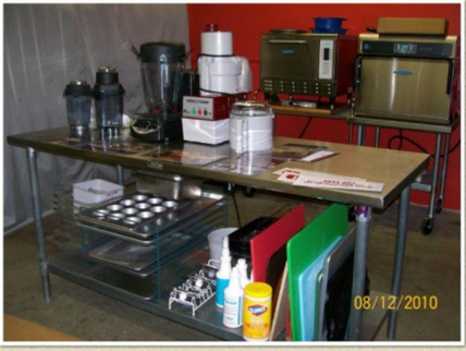 Our test kitchen provides the change to heighten the knowledge of the products we represent.